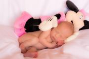 maternity and newborn photography - newborn baby girl